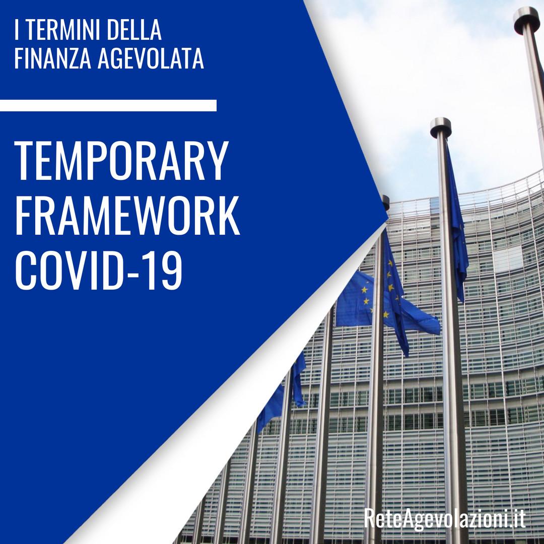 TEMPORARY FRAMEWORK COVID-19