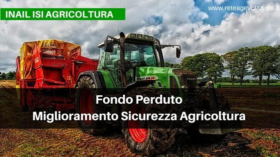 bando inail agricoltura